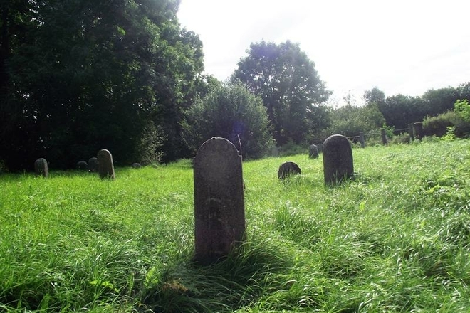 The second old cemetery of the Jewish class