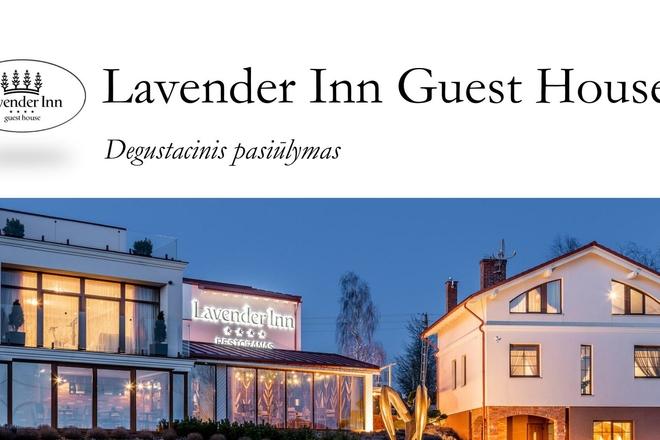 Lavender Inn Guest House tasting