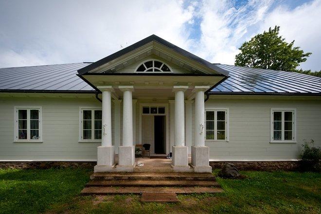 Pavirvyčio manor homestead