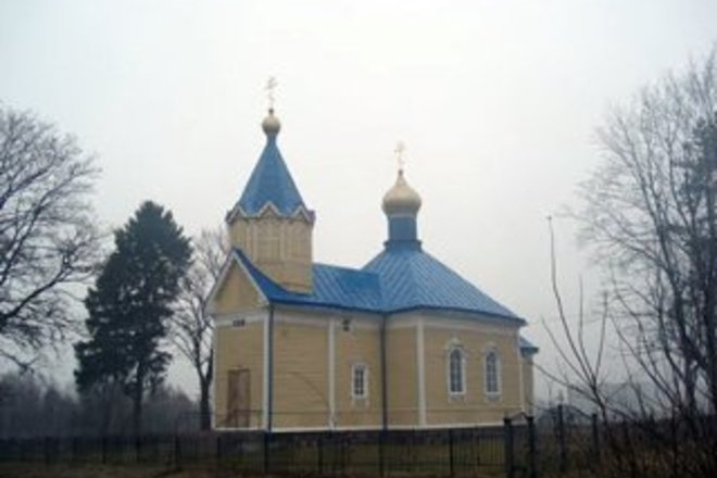 """Orthodox Church of the Mother of God Icon """"Joy of All Sadness"""""""