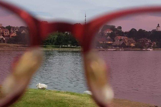 """Autora ekskursija """"Telši caur sārtām brillēm / Maste ezera krastā / nāc, redz, dzird"""""""