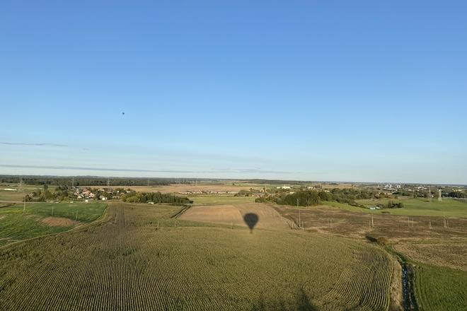 Heißluftballonflug in Telšiai