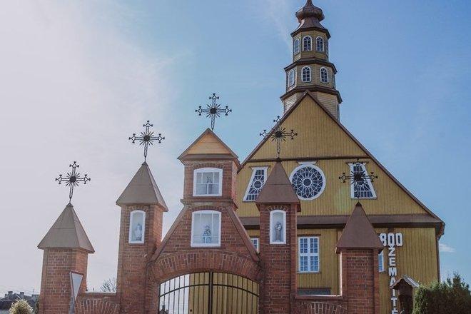 St. Alexander Church in Varniai