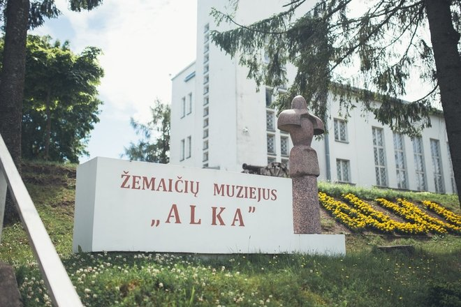 """Samogitian Museum """"Alka"""" _ closed for RECONSTRUCTION"""